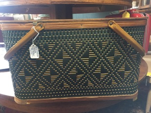 Louisiana. I wanted this very expensive vintage picnic basket