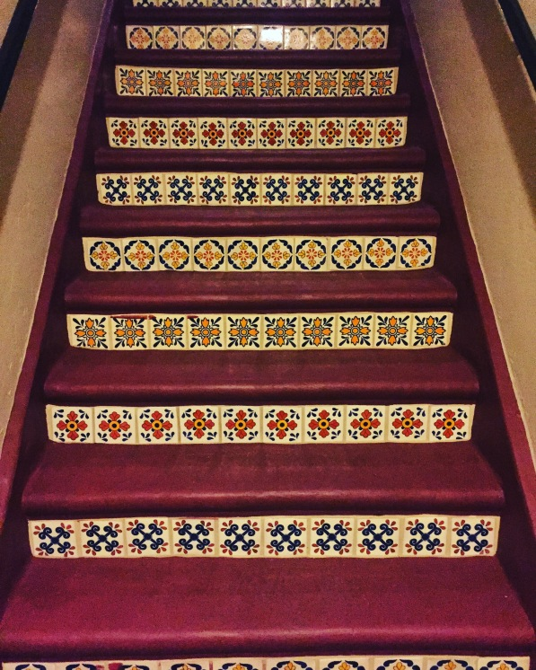 Stairs to my new home!