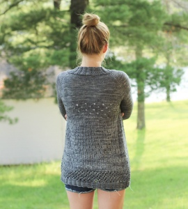 Patterns Cardigan Plummer